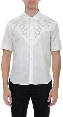 Saint Laurent Embroidered Western Shirt