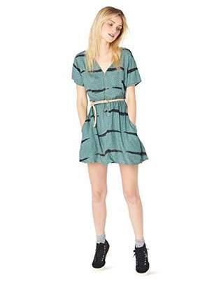 RVCA Junior's Dawning V-Neck Dress