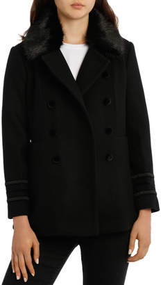 Coat Military with Fur