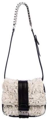 3.1 Phillip Lim Ruffle Leather Shoulder Bag