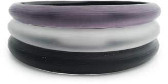 Alexis Bittar Tapered Bangle Bracelet 3 Stack Set