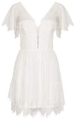Nicholas Corded Lace Mini Dress