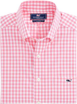 Vineyard Vines Corozo Gingham Slim Tucker Shirt