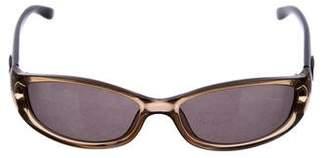 Gucci Narrow Tinted Sunglasses