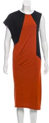 Pringle Colorblock Wool Dress