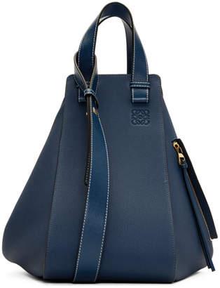 Loewe Indigo Medium Hammock Bag