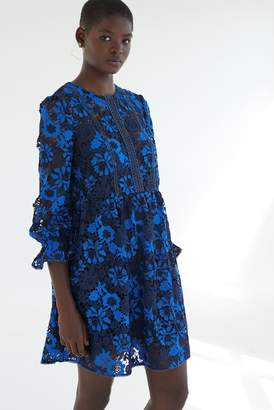 French Connection Musea Lace Flared Dress
