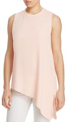 Calvin Klein Asymmetric Sleeveless Top $69.50 thestylecure.com