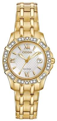 Citizen Women's Diamond Accented Eco Drive Watch, 26mm - 0.0053 ctw