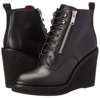 Marc by Marc Jacobs Kit Wedge Boot $478 thestylecure.com