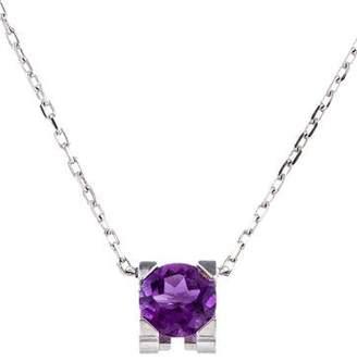 Cartier Amethyst C de Pendant Necklace