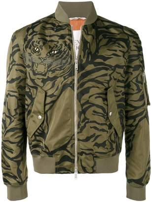 Valentino tiger print bomber jacket