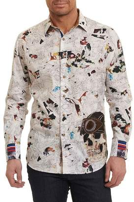 Robert Graham Dix Time Limited Long Sleeve Classic Fit Shirt