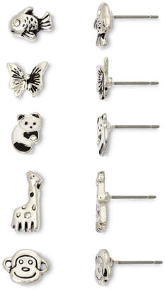MIXIT Mixit Land & Sea Critters 5-pr. Earring Set