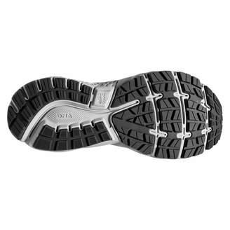 Brooks Women's Ghost 11 D Width Running Shoe (BRK-120277 1D 4084890 9 BLK/PNK/AQU)