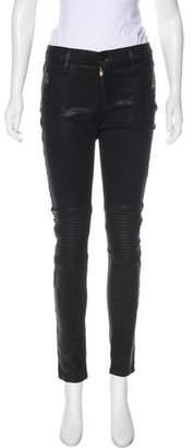 Hudson Mid-Rise Skinny Pants