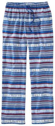 L.L. Bean Women's L.L.Bean Flannel Pants, Print