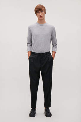 Cos RELAXED TROUSERS WITH TURN-UPS