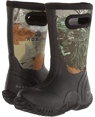Roper Neoprene Camo Barn Boot Kids Shoes