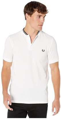 Fred Perry Bomber Collar Pique Shirt