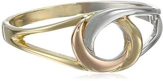14k Gold Tri-Color Love Knot Ring