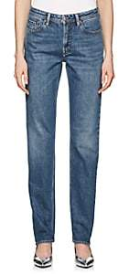 Acne Studios Women's South Straight Jeans-Mid Blue