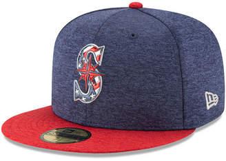 New Era Boys' Seattle Mariners Stars & Stripes 59FIFTY Cap