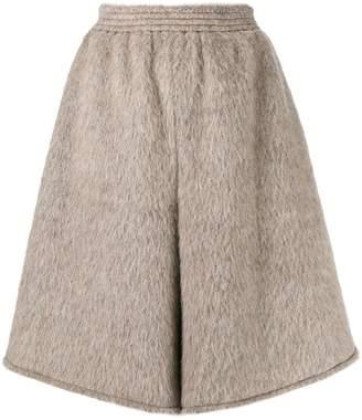 MM6 MAISON MARGIELA oversized elasticated knit shorts