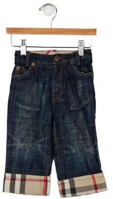 Burberry Boys' Straight-Leg Jeans