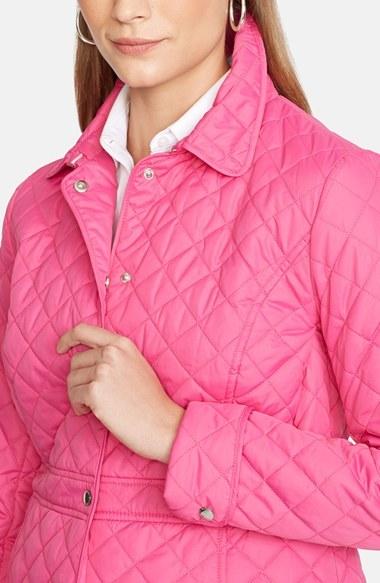 Lauren Ralph Lauren Peplum Hem Quilted Jacket 3