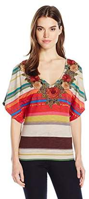 Desigual Women's Lili Knitted Short Sleeve T-Shirt