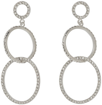 Isabel Marant Silver Double Circle Earrings