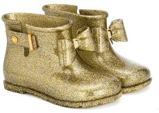 Mini Melissa bow detail boots