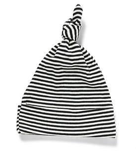 Nature Baby Boys Beanie Stripe(0-12M)
