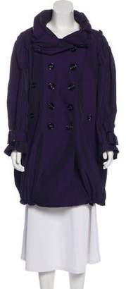 Burberry Knee-Length Double-Breasted Coat