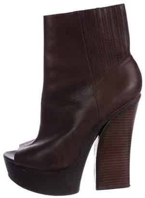 Rachel Zoe Peep-Toe Platform Ankle Boots