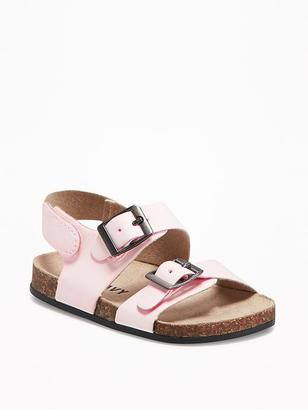 Sueded Double-Strap Sandals for Baby $12.94 thestylecure.com