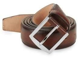Sutor Mantellassi Carter Adjustable Leather Belt