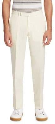 Ermenegildo Zegna Men's Classic Twill Trousers - Natural - Size 54 (38)