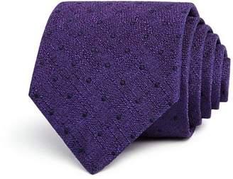 John Varvatos Heather Dot Classic Tie