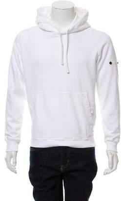 Stone Island Hooded Logo-Accented Sweatshirt