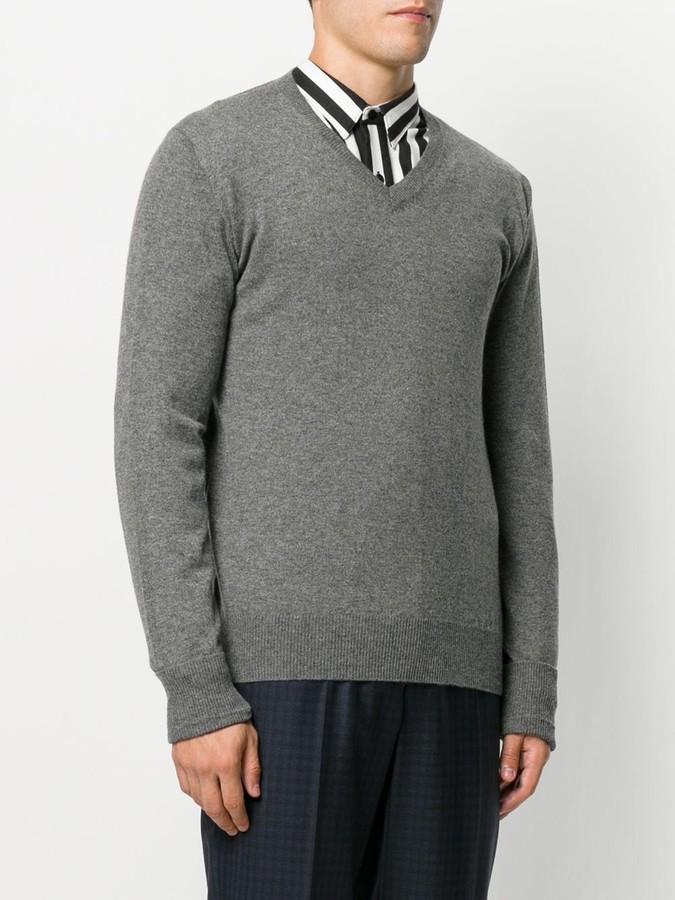 Ballantyne v-neck jumper