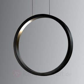Assolo - schwarze LED-Hängeleuchte, dimmbar
