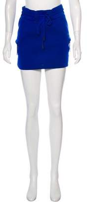 Helmut Lang Drawstring Mini Skirt