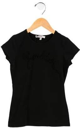 Jean Paul Gaultier Girls' Knit Logo Top