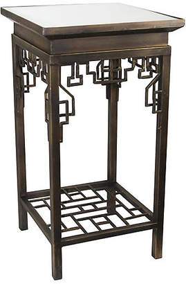 One Kings Lane Pachai Mirrored Side Table