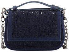 Neiman Marcus Crystal-Encrusted Mini Crossbody Bag