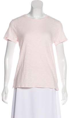 ATM Anthony Thomas Melillo Short-Sleeve Textured Top w/ Tags