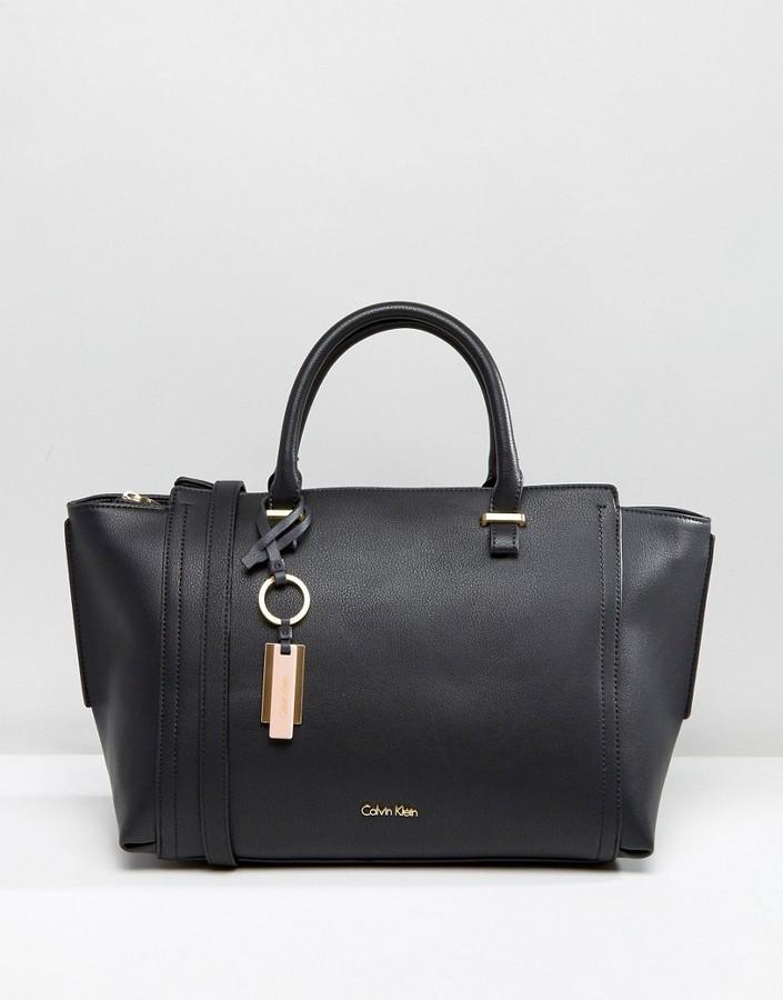 Calvin KleinCalvin Klein Winged Tote Bag