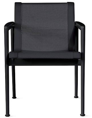 Design Within Reach Knoll 1966 Collection Dining Armchair, Black at DWR